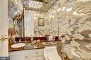 Powder room jewel is 70s iconic style - 10201 GROSVENOR #1701, NORTH BETHESDA
