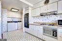 Kitchen has great storage throughout - 10201 GROSVENOR #1701, NORTH BETHESDA