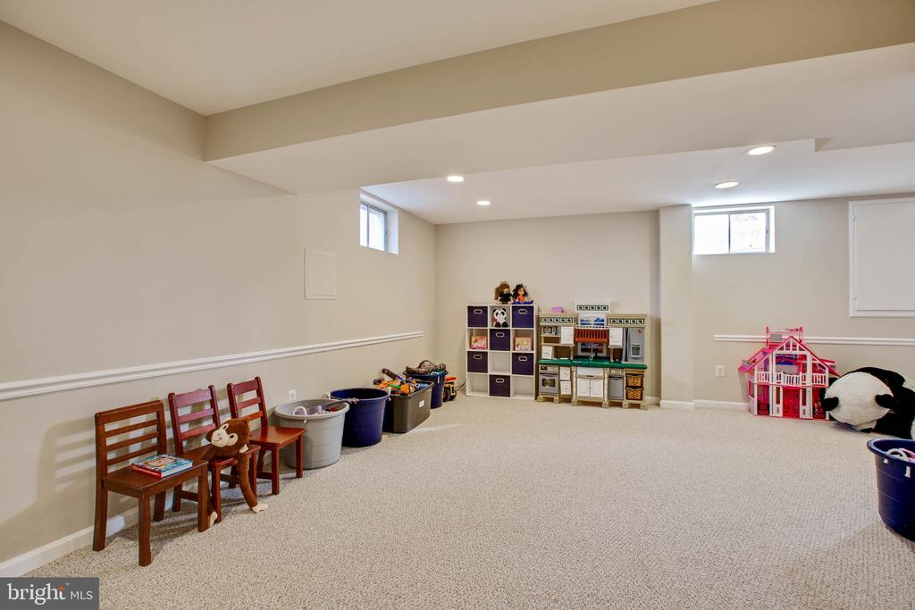 Bright basement with new carpet. - 11 CRISSWELL CT, STERLING