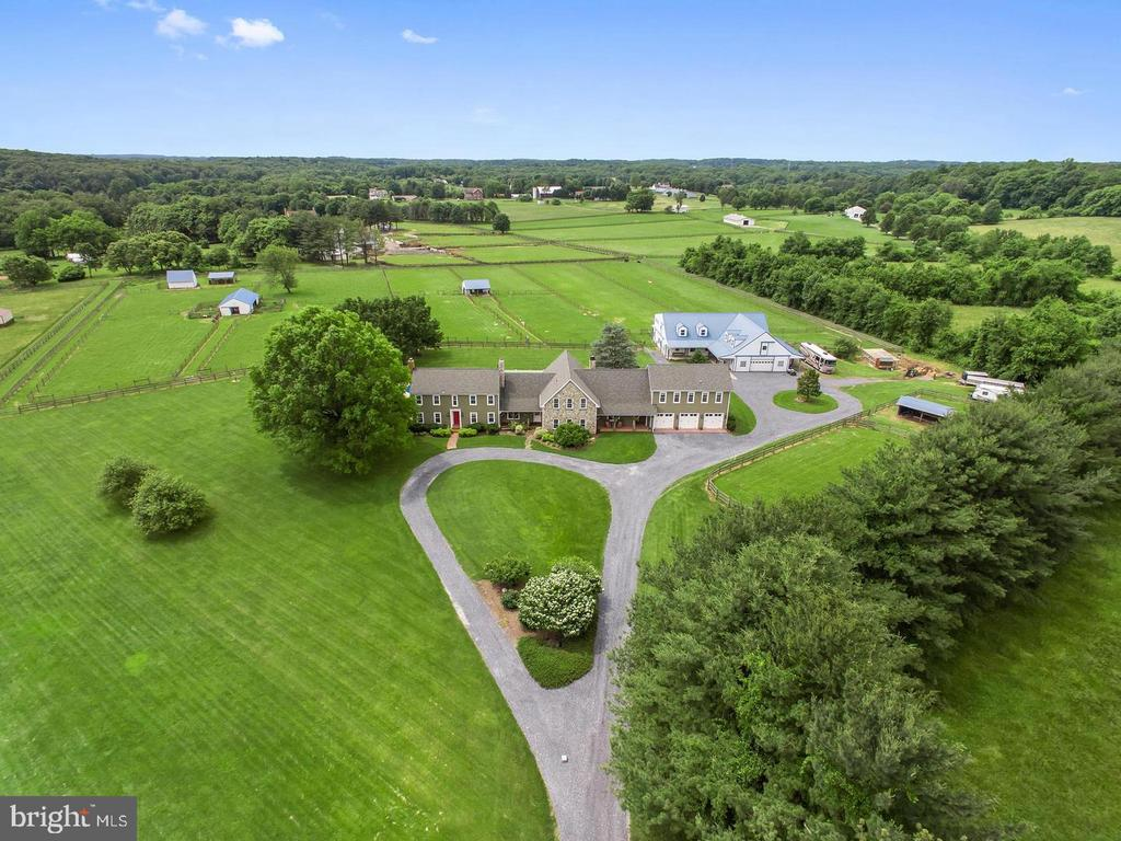 Aerial View of Estate - 4320 DAMASCUS RD, GAITHERSBURG