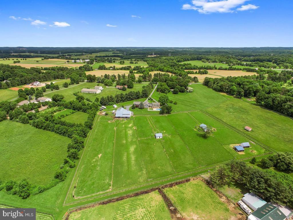 Aerial View - 4320 DAMASCUS RD, GAITHERSBURG