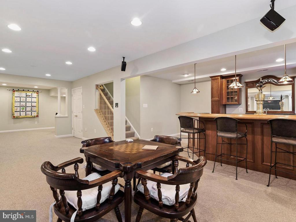 Lower Level Entertainment Area - 4320 DAMASCUS RD, GAITHERSBURG