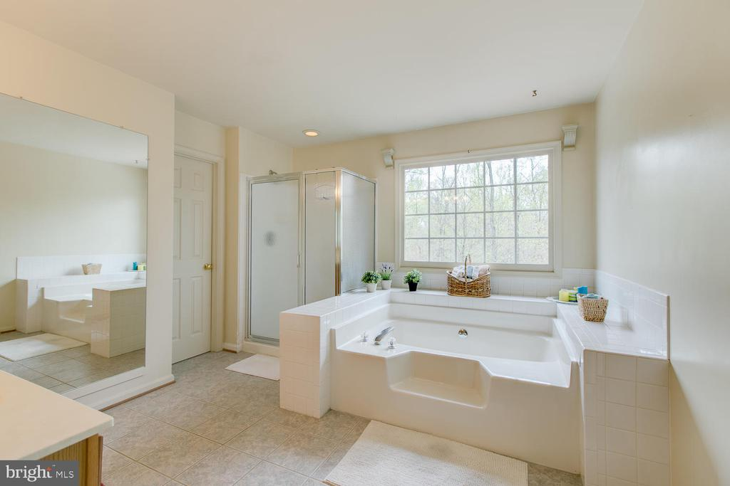 Master Bath with private water room - 1480 TRUSLOW RD, FREDERICKSBURG