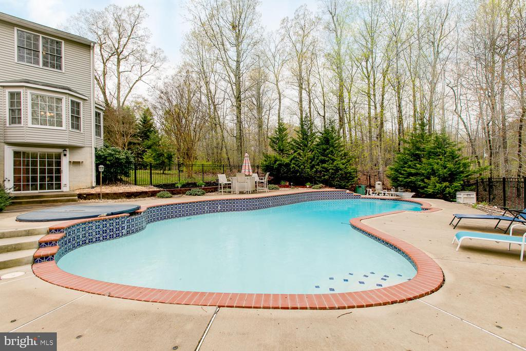 Enclosed Pool area - 1480 TRUSLOW RD, FREDERICKSBURG