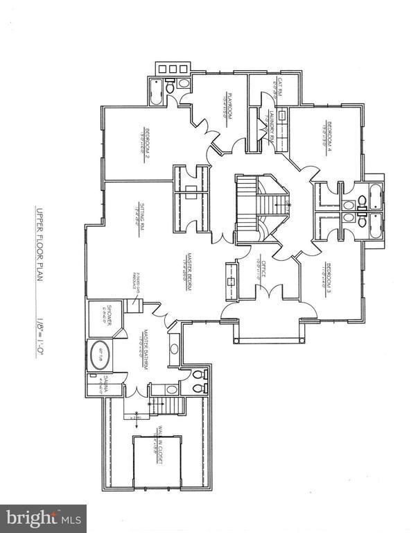 Floor plan - Upper Level - 208 MCHENRY ST SE, VIENNA
