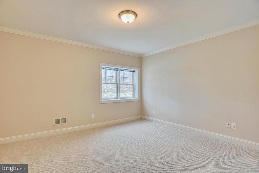 Basement bedroom. - 7919 N PARK ST, DUNN LORING
