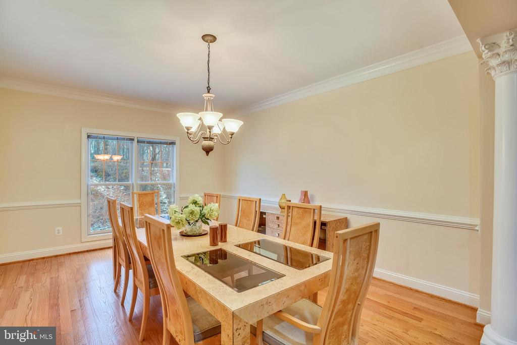 Enormous dining room! - 7919 N PARK ST, DUNN LORING