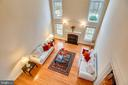 Second floor overlooking the great room. - 7919 N PARK ST, DUNN LORING
