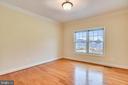 New home office overlooks rear yard. - 7919 N PARK ST, DUNN LORING