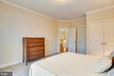 Left rear elevation bedroom. - 7919 N PARK ST, DUNN LORING