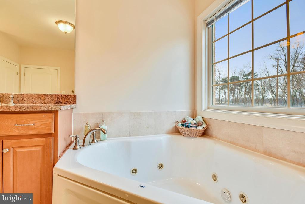Master suite jacuzzi tub. - 7919 N PARK ST, DUNN LORING