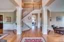 Welcoming foyer - 18483 ORCHID DR, LEESBURG
