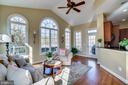 Lovely sunroom - 18483 ORCHID DR, LEESBURG