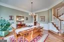Oversized dining room - 18483 ORCHID DR, LEESBURG