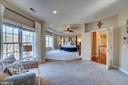 Spacious master bedroom - 18483 ORCHID DR, LEESBURG