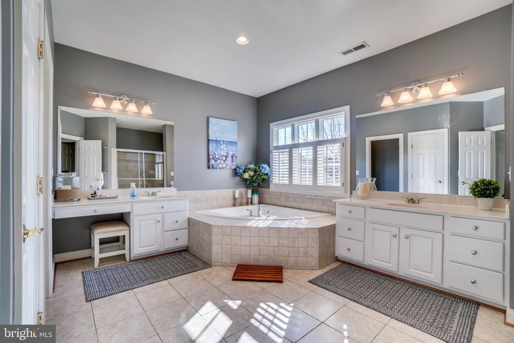 Spa like bathroom - 18483 ORCHID DR, LEESBURG