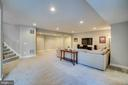 Bright walk out basement - 18483 ORCHID DR, LEESBURG