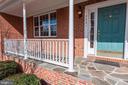 Front porch - 43304 DRESSMAKER LN, CHANTILLY