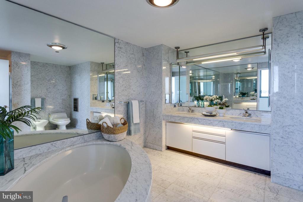 Master Bathroom - 1300 CRYSTAL DR #PH3S, ARLINGTON