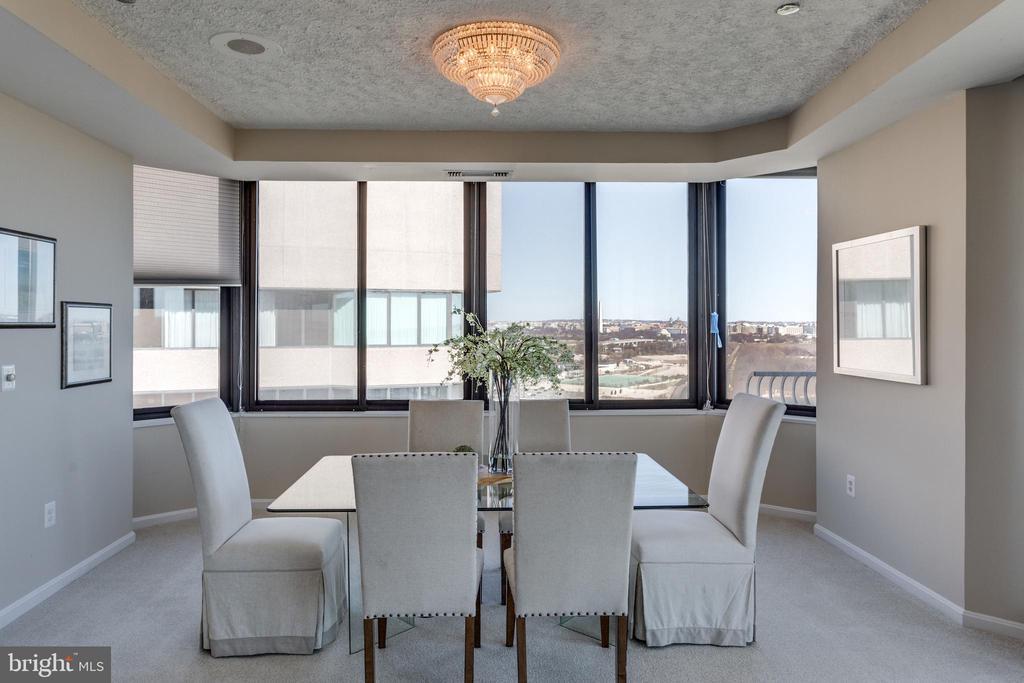 Dining Room - 1300 CRYSTAL DR #PH3S, ARLINGTON
