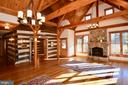 Great Room and Log Cabin - 11 PENNY LN, SPERRYVILLE