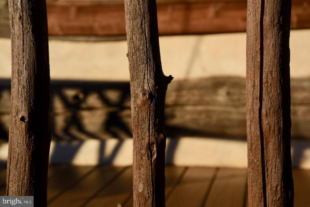 Porch Rail Detail - 11 PENNY LN, SPERRYVILLE