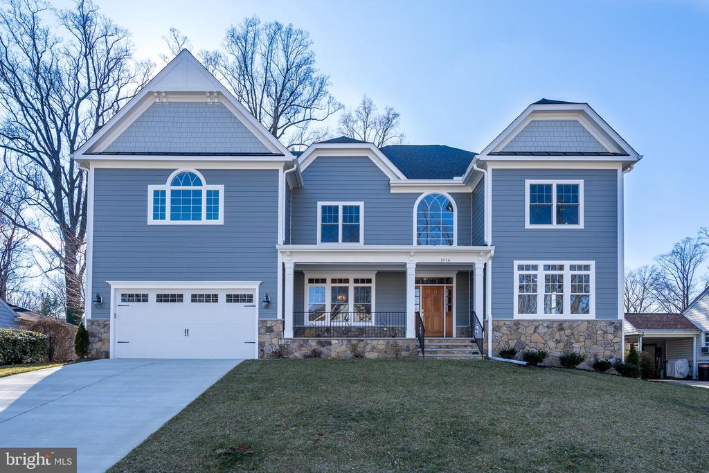 Front View - 1916 STORM DR, FALLS CHURCH