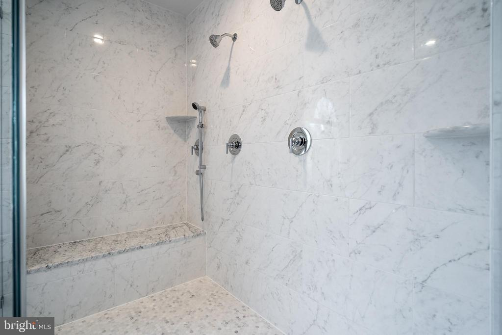 Master Bathroom Shower - 1916 STORM DR, FALLS CHURCH