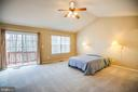 Master Suite leads to Deck - 8485 COLFAX DR, KING GEORGE