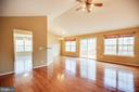 Wide open Living Room - 8485 COLFAX DR, KING GEORGE