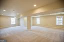 Fully Finished Rec Room in Basement - 8485 COLFAX DR, KING GEORGE