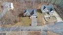 Overhead view of front of house - 8485 COLFAX DR, KING GEORGE