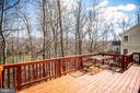 Rear Deck - 8485 COLFAX DR, KING GEORGE