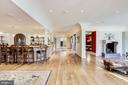 Sprawling Lower Level full of natural light - 9811 AVENEL FARM DR, POTOMAC