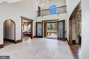 Two-Story Foyer - 9811 AVENEL FARM DR, POTOMAC