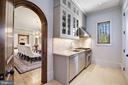 Butler's Pantry / Catering Kitchen - 9811 AVENEL FARM DR, POTOMAC