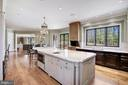 Eat-In Kitchen - 9811 AVENEL FARM DR, POTOMAC