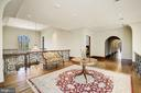 Upper Level Landing - 9811 AVENEL FARM DR, POTOMAC