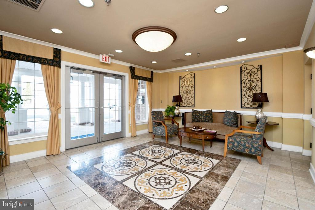 Secure Lobby Entrance to Building - 44475 CHAMBERLAIN TER #302, ASHBURN