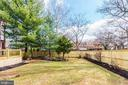 Huge backyard with new fencing - 1731 OTIS PL NE, WASHINGTON