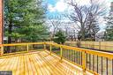 Large, new deck - 1731 OTIS PL NE, WASHINGTON