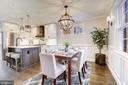 Gorgeous open kitchen and dining room - 1731 OTIS PL NE, WASHINGTON
