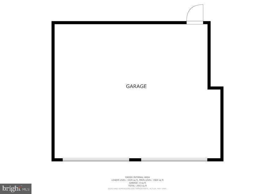 2 Car Garage - 6221 LAVELL CT, SPRINGFIELD