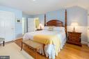 King size 5th bedroom with three closets - 6008 KENNEDY DR, CHEVY CHASE