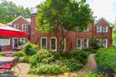 Winding pathways throughout backyard - 6008 KENNEDY DR, CHEVY CHASE