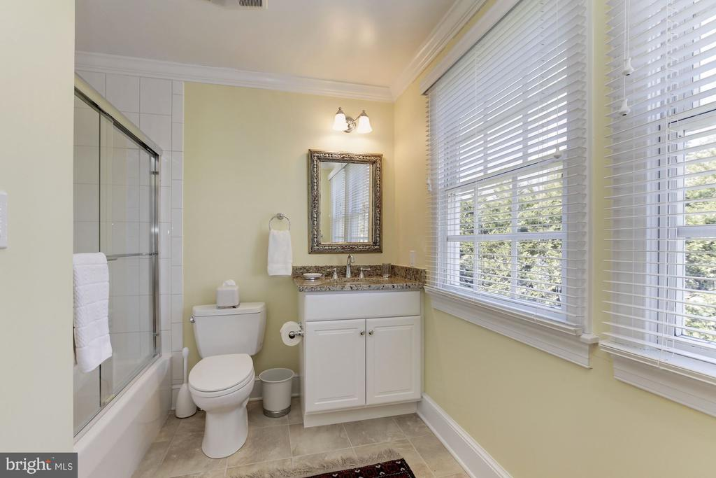 En suite 5th bathroom with shower and glass doors - 6008 KENNEDY DR, CHEVY CHASE