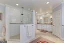 Gorgeous Master Bathroom - 6008 KENNEDY DR, CHEVY CHASE