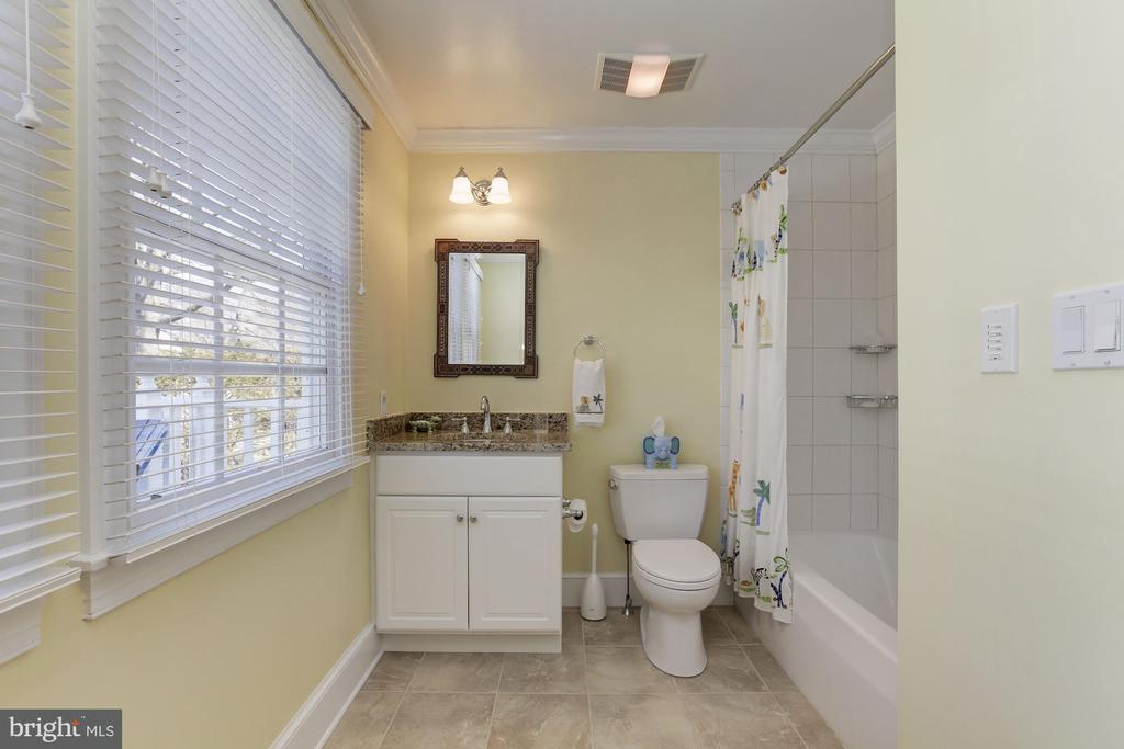 En suite 4th bathroom  with tub - 6008 KENNEDY DR, CHEVY CHASE