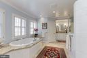 2nd separate vanity and water closet - 6008 KENNEDY DR, CHEVY CHASE