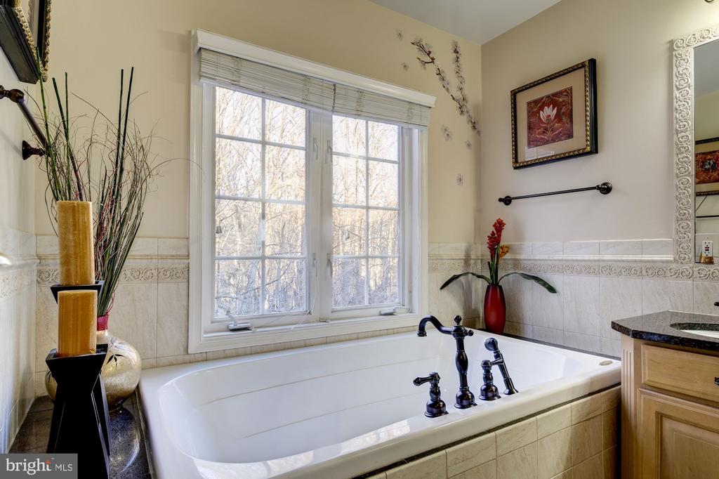 Soak-In Tub Overlooking Private Backyard - 917 LINSLADE ST, GAITHERSBURG
